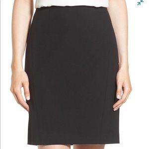 Halogen Black Pencil Skirt, NWT, 0P